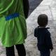 Criança e contínuo