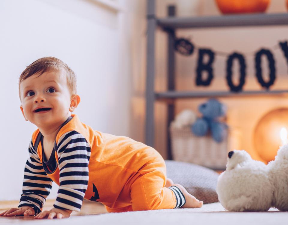 bebé no halloween